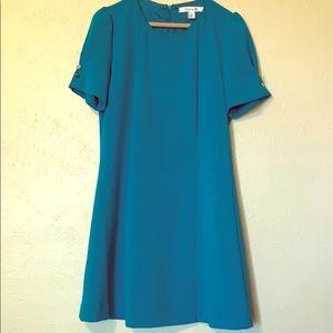 Classy turquoise dress